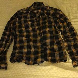 Banana Republic Slim Fit Flannel Shirt